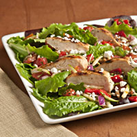 Grilled Chicken Provencale Salad