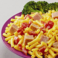 Ham-it-Up Mac and Cheese