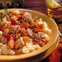 Moroccan Turkey Stew