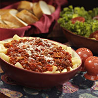 Old-Fashioned Italian Meat Sauce with Pasta