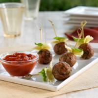 Pasta with Meatballs On A Stick