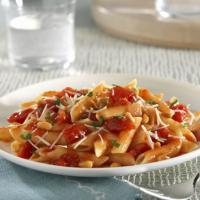 Penne with Tomatoes and Pine Nuts