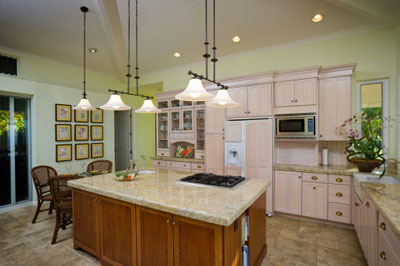 Paint, Molding and Lighting - How to Redo Your Kitchen on a ...