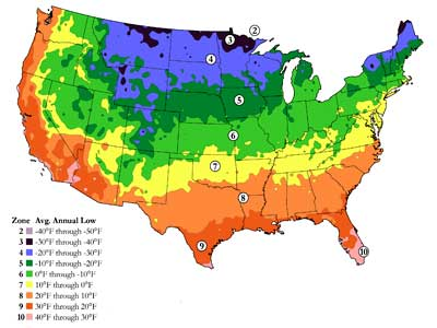 Hardiness Zones | HowStuffWorks on