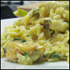 Risotto of Seafood, Asparagus and Saffron
