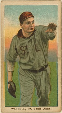 Hall of Famer Rube Waddell