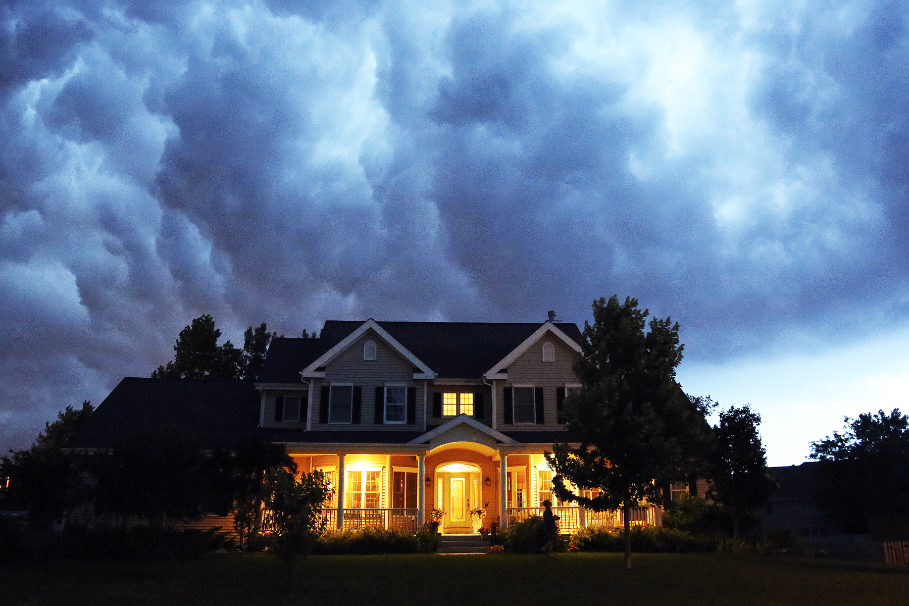 Are you safe from lightning if the storm hasn't hit yet? | HowStuffWorks