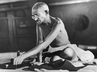 Why did Gandhi march 240 miles for salt?