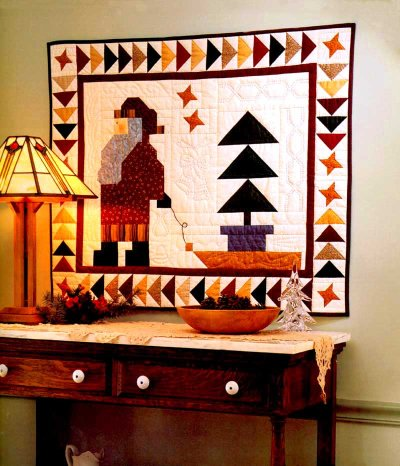 Santa's Special Delivery Quilt pattern