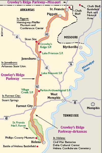 Arkansas Scenic Drives: Crowley\'s Ridge Parkway | HowStuffWorks