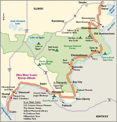Ohio River Map With Cities | Map nhautoservice