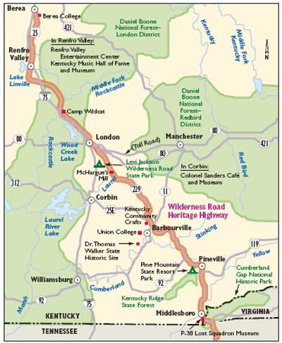 Kentucky Wilderness Road Map on kentucky ohio map, superstition mountains wilderness area trail map, kentucky scenic byways map, laurel county ky road map, kentucky covered bridges map, kentucky tourism map, kentucky atv map, kentucky airports map, kentucky interstate 75 map, kentucky agriculture map, kentucky lake map,