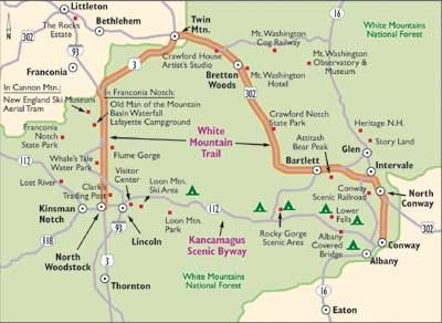 Qualities of White Mountain Trail - New Hampshire Scenic ...