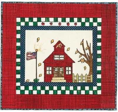 School Days Quilted Wall Hanging Pattern