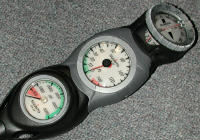 scuba information gauges