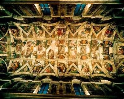 Sistine Chapel Ceiling By Michelangelo Howstuffworks