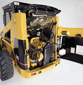 The Powertrain - How Caterpillar Skid Steer Loaders & Multi