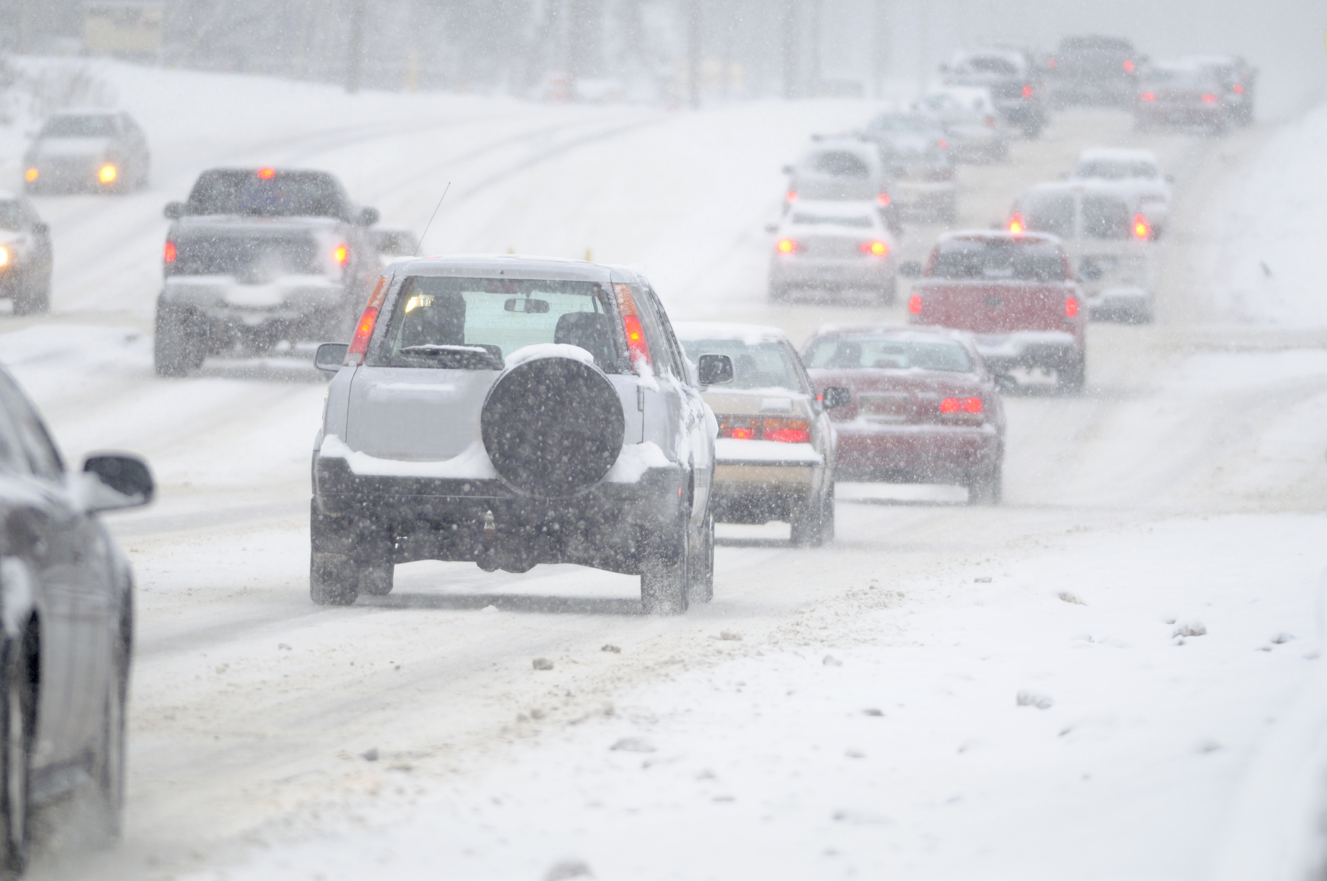 3  Stay with Your Car - Snowstorm Tip 3: Stay with Your Car
