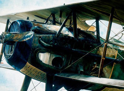 The SPAD VII was a classic World War I airplane.