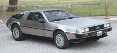 DeLorean sports car