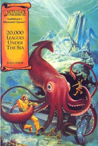 Book cover for '20,000 Leagues Under the Sea'