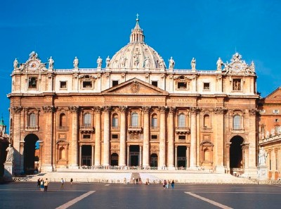 Image result for saint peters basilica exterior