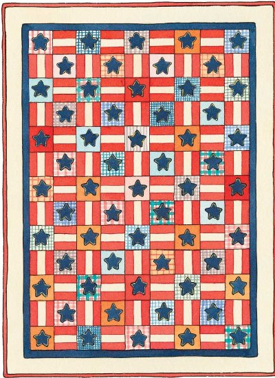 Stars & Stripes Forever Quilt Pattern