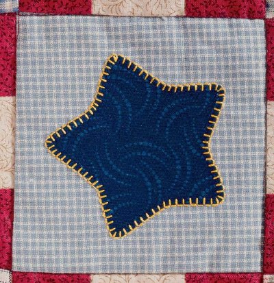 Stars & Stripes Forever Quilted Coaster