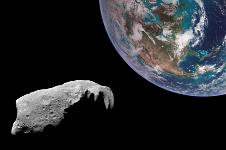 Could we stop an asteroid on a collision course toward Earth