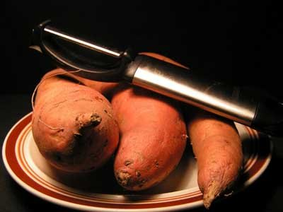 Sweet potatoes are packed with beta-carotene.