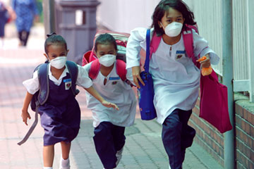 Image result for swine flu school