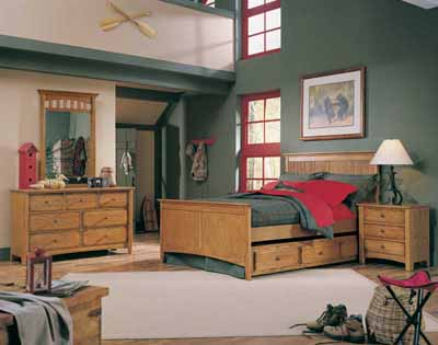 Rustic Retreats Teen Bedroom Decorating Idea Howstuffworks