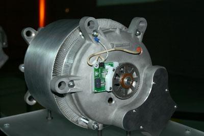 The Roadster motor.