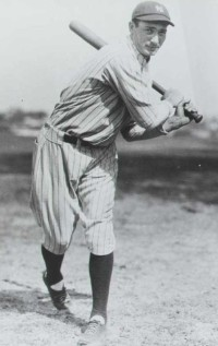 Tony Lazzeri became the first player to belt 60 home runs in one season.