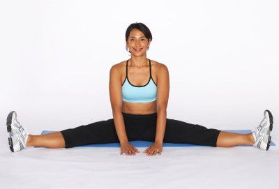 how to do inner thigh and hamstring stretches  howstuffworks