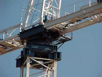 Parts Of A Tower Crane How Tower Cranes Work Howstuffworks