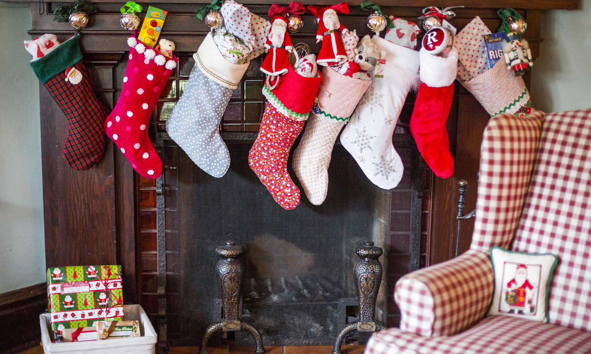 Image result for stockings england christmas