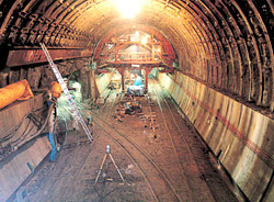 Building the Seikan tunnel