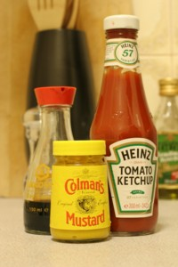 Condiment portion size should be considered for condiments containing calories or carbs.