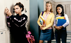 Mean girls might be your teen's friends one day, then turn on her the next.