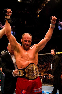 Five-time UFC champion Randy Couture