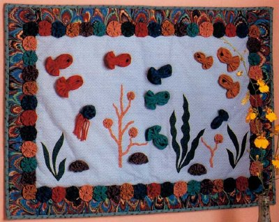 Underwater Fantasy Quilted Wall Hanging