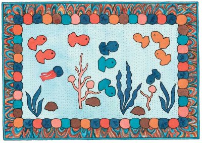 Underwater Fantasy Quilted Wall Hanging Pattern