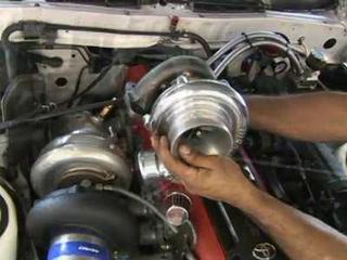 How do you make a wastegate adjustment on a turbocharger