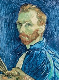 Vincent van Gogh's Self-Portrait, 1889