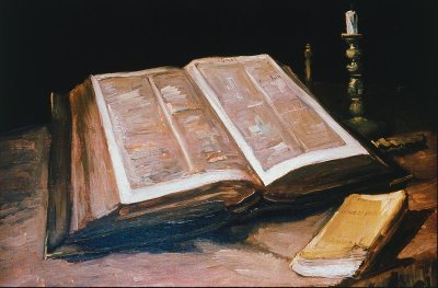 Vincent van Gogh's Still Life with Bible, 1885