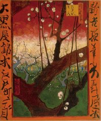 Vincent van Gogh's Flowering Plum Tree (After Hiroshige), 1887
