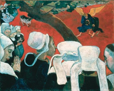 Paul Gaugin's Vision After the Sermon, 1888