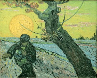 Vincent van Gogh's The Sower, 1888
