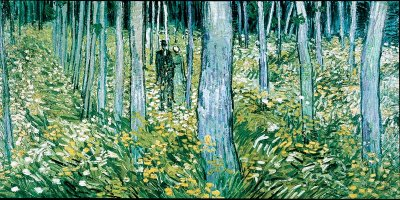 Undergrowth with Two Figures by Vincent van